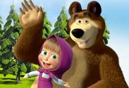 Pohadka Masa a medved