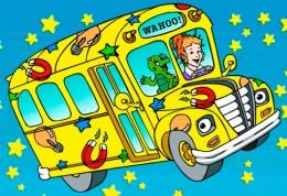 Kouzelny skolni autobus