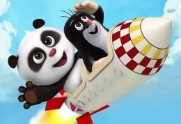 Krtek a Panda - pohadka