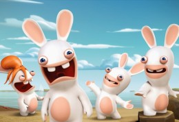 Kralici utoci - Rabbids invastion - pohadka