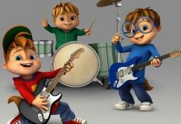 Alvin a Chipmunkove - pohadka