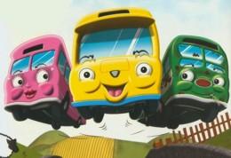Autobusy v jednom kole - pohadka