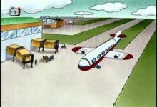 Teo: Let letadlem