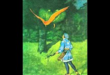 Ptak Ohnivak a liska Ryska (mluvene slovo)