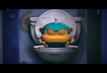 Vesmirni opice: Koupelna