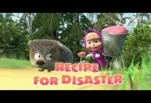 Masa a medved: Recept na katastrofu (anglicky)