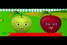 Mela babka ctyri jabka (24 minut pisnicek pro deti)