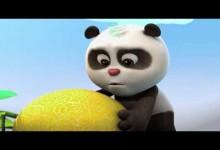 Krtek a Panda: Kdo dostane meloun