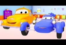 Mesto aut: Modre zavodni auto