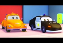 Mesto aut: Policejni auto