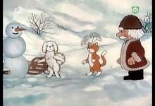 V chaloupce a za chaloupkou: Zivy snehulak