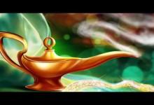Aladinova kouzelna lampa (audio pohadka)